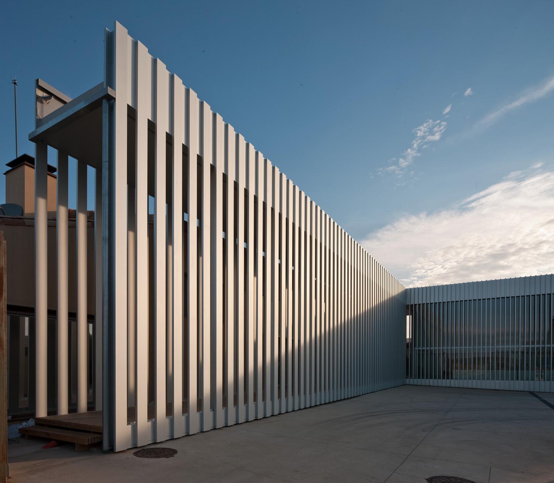 Reforma interior y ampliación del Centro de Información de Bardenas Reales en Aguilares