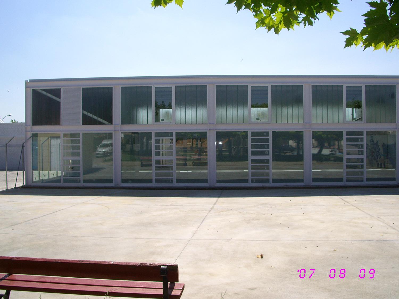 Piscinas y gimnasio en Fustiñana (Navarra)