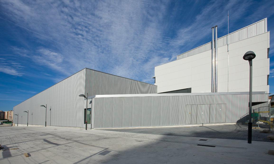 Proyecto y construcción I.E.S.O. en Villava (Navarra)